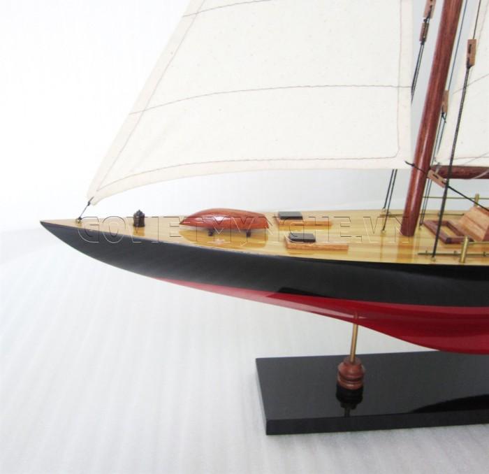 Mô hình du thuyền gỗ Columbia 50cm1