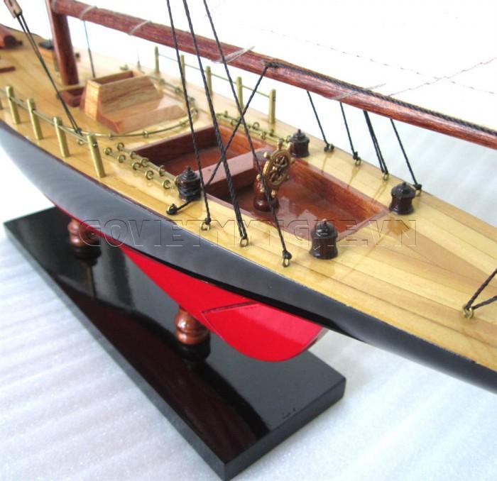 Mô hình du thuyền gỗ Columbia 50cm4