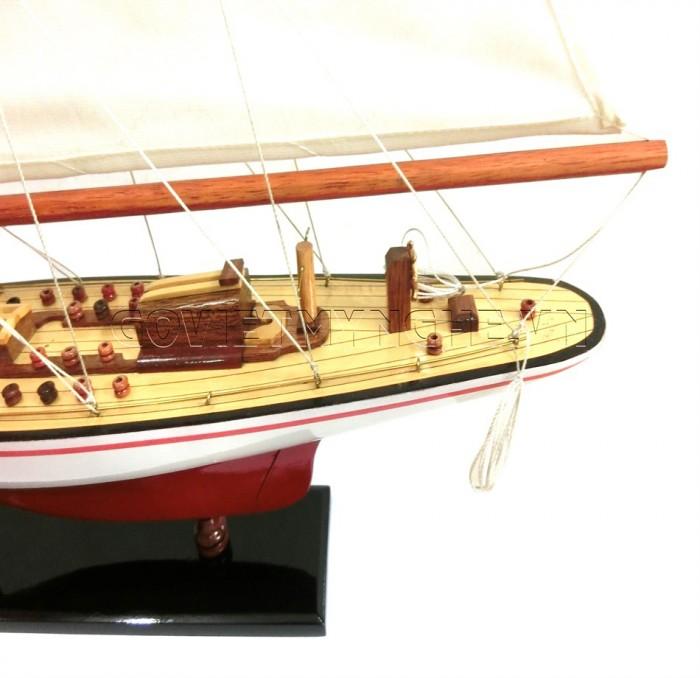 Mô hình du thuyền gỗ Endeavour 50cm5