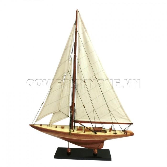 Mô Hình Du Thuyền Gỗ Shamrock 50cm0