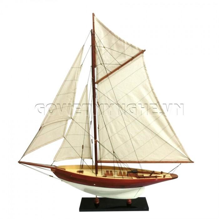 Mô hình du thuyền gỗ Penduick 70cm0