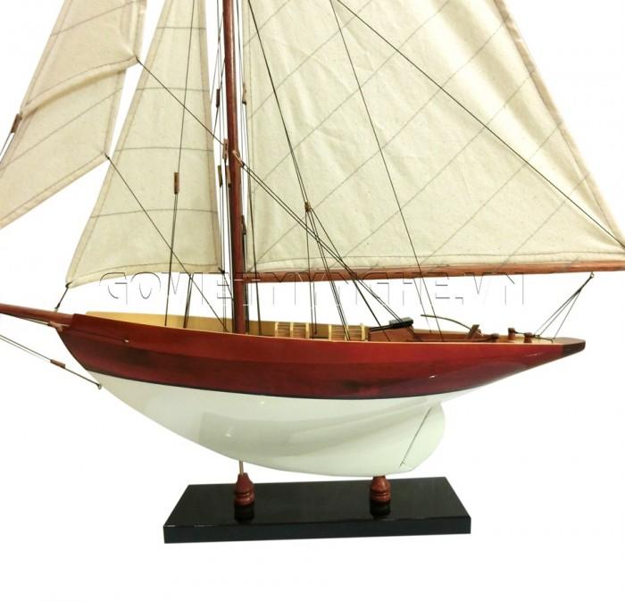 Mô hình du thuyền gỗ Penduick 70cm1