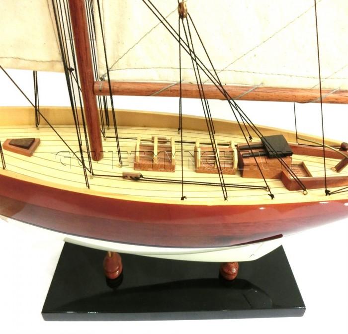 Mô hình du thuyền gỗ Penduick 70cm3