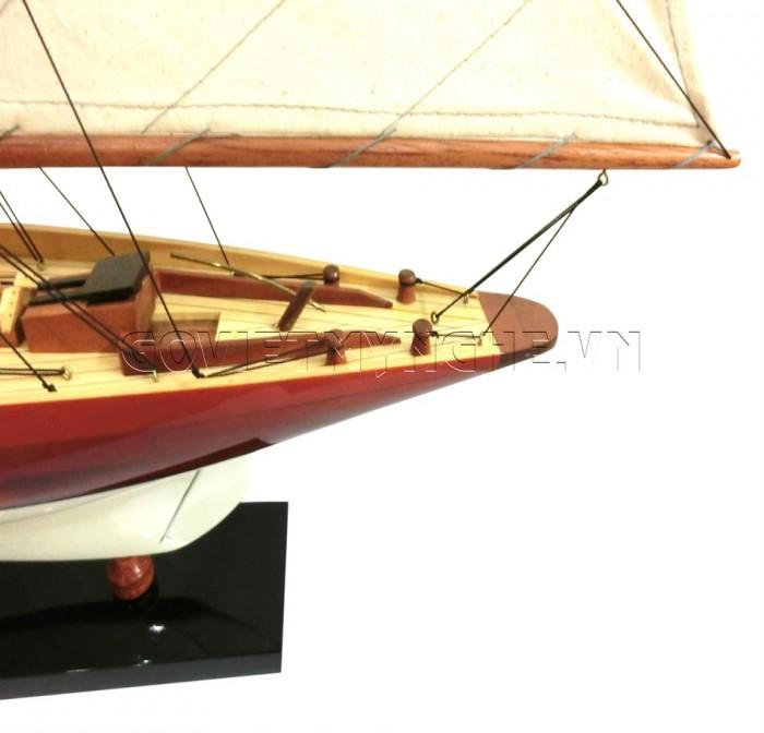 Mô hình du thuyền gỗ Penduick 70cm4