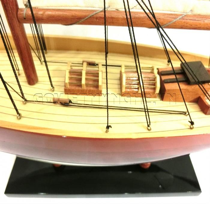Mô hình du thuyền gỗ Penduick 70cm5