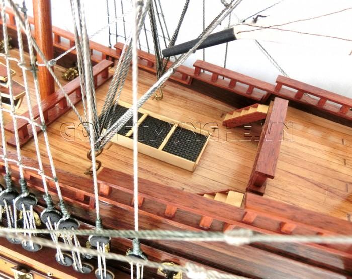 Mô hình thuyền chiến cổ Soleil Royal 80cm9