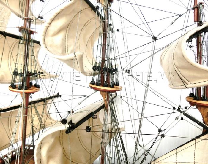 Mô hình thuyền chiến cổ Soleil Royal 80cm11