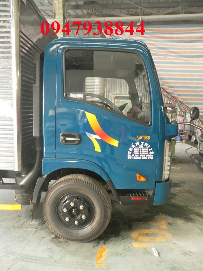 Xe tải 3,5 tấn chưa qua sử dụng, mới 100% đóng thùng theo yêu cà, giá trả góp