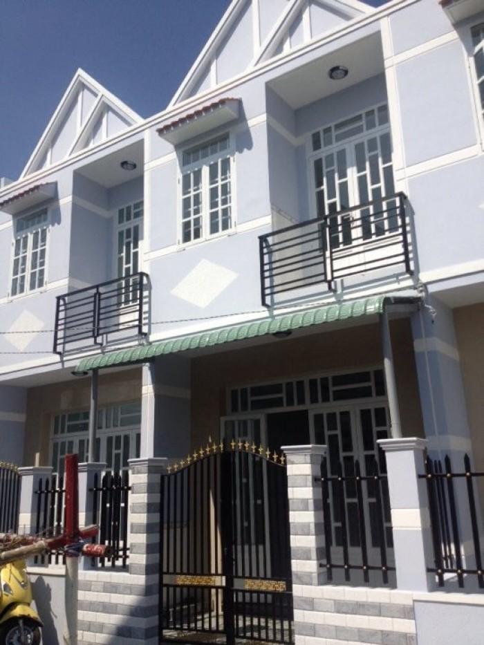 Nhà mới xây 4 x 20m  1 Trệt 1 Lầu SHR_ Đường QL50 ngã 3 TÂN KIM