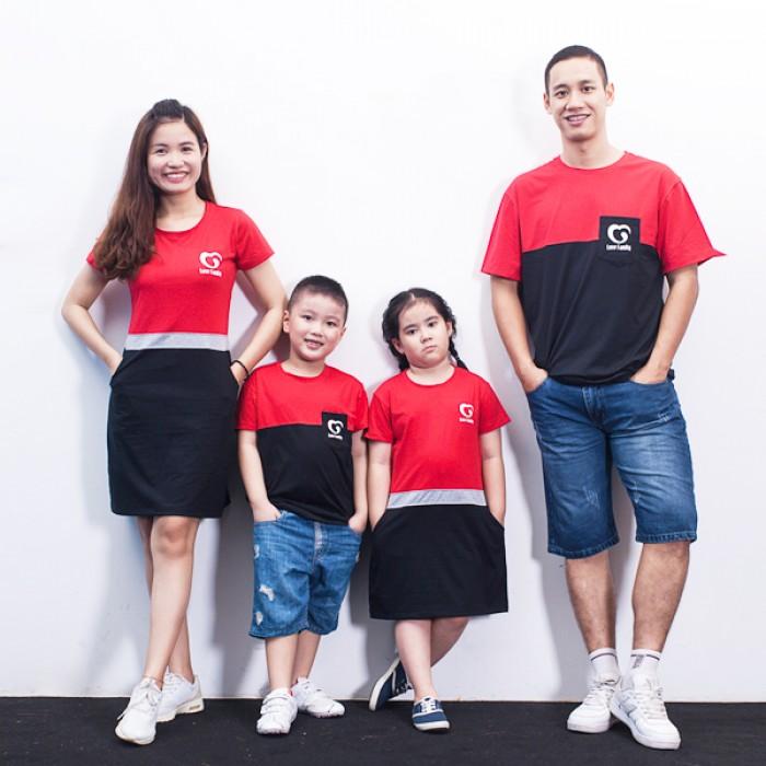 Áo gia đình 4 người giá bán 790.000.
