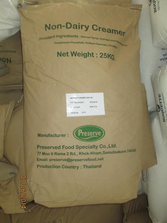 Chuyên bán nguyên liệu dùng trong ngành thực phẩm,Giá rẻ:Bột sữa Non-Dairy Creamer(Thái Lan)0