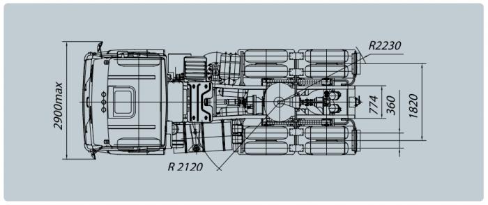 Bán xe đầu kéo  KAMAZ 6460 (6X4)