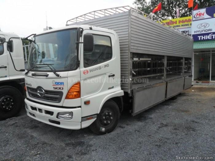 Ô Tô Đại Đô Thành – Chuyên cung cấp Hino chở heo , Hino FC, tải trọng 6 tấn