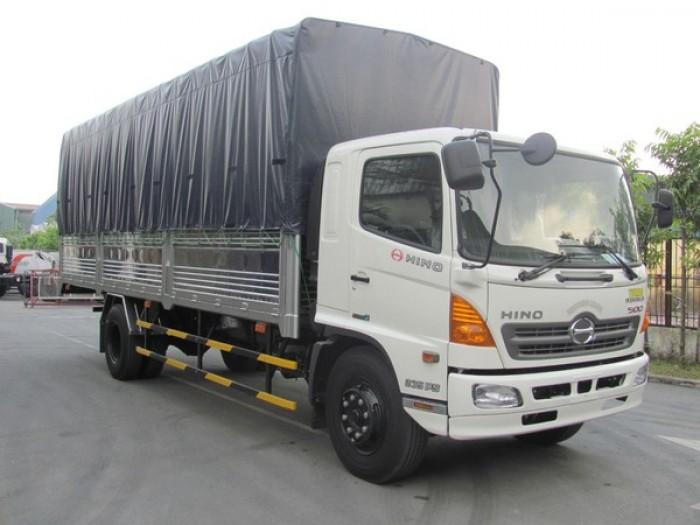 Mới – Hino nhập khẩu chính hãng, hàng Nhật Bản – chở heo tải trọng cao