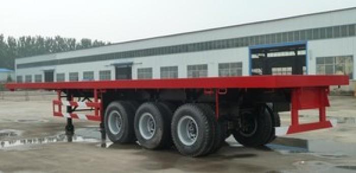 Somi Romooc Cimc Sàn 31. 5 tấn 40 Feet 3 Trục - 8 khóa