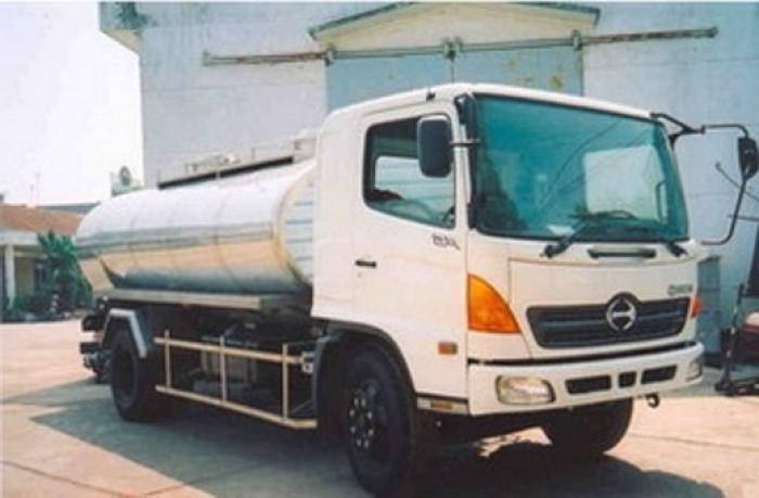 Hino bồn FM8JNSA 13 m3 chở sữa