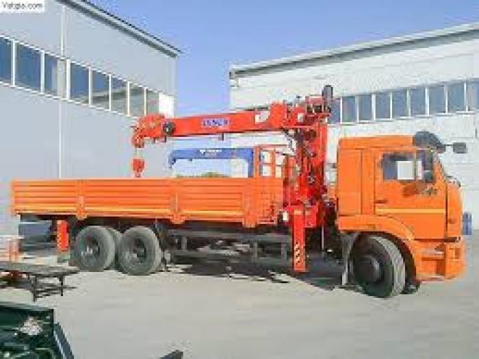 Khuyến mãi xe tải cẩu 65117