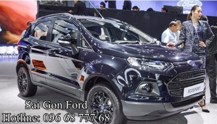 Ford Ecosport 1.5L Titanium Black Edition, trả trước chỉ 150 triệu, giao xe ngay