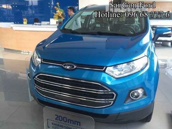 [1] Ford Ecosport 1.5L Titanium, bản tự động, đủ màu, giao xe ngay