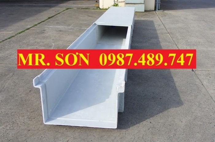 mương thoát nước composite, nắp đậy mương chống rỉ FRP0