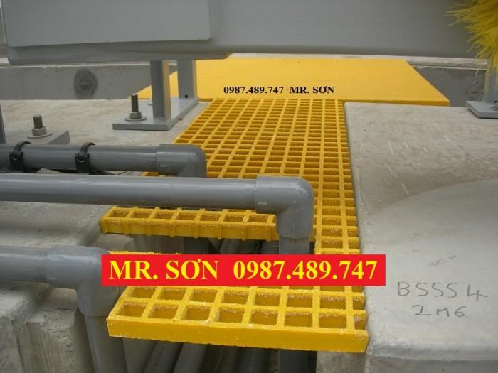 tấm sàn lưới sợi thủy tinh, tấm sàn nhựa composite7