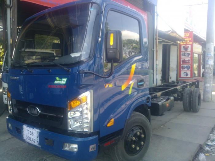 VEAM260 1t9 thùng 6m2 Động cơ Hyundai vào thành phố