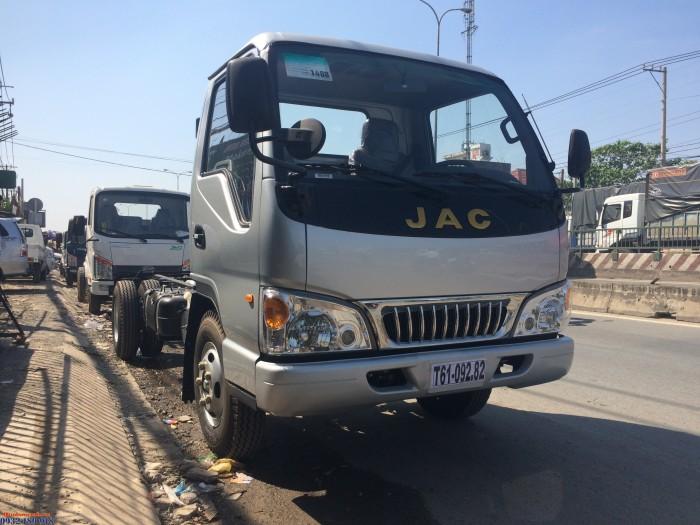 JAC 1T95 4m3 Động cơ ISUZU Mới chạy trong thành phố