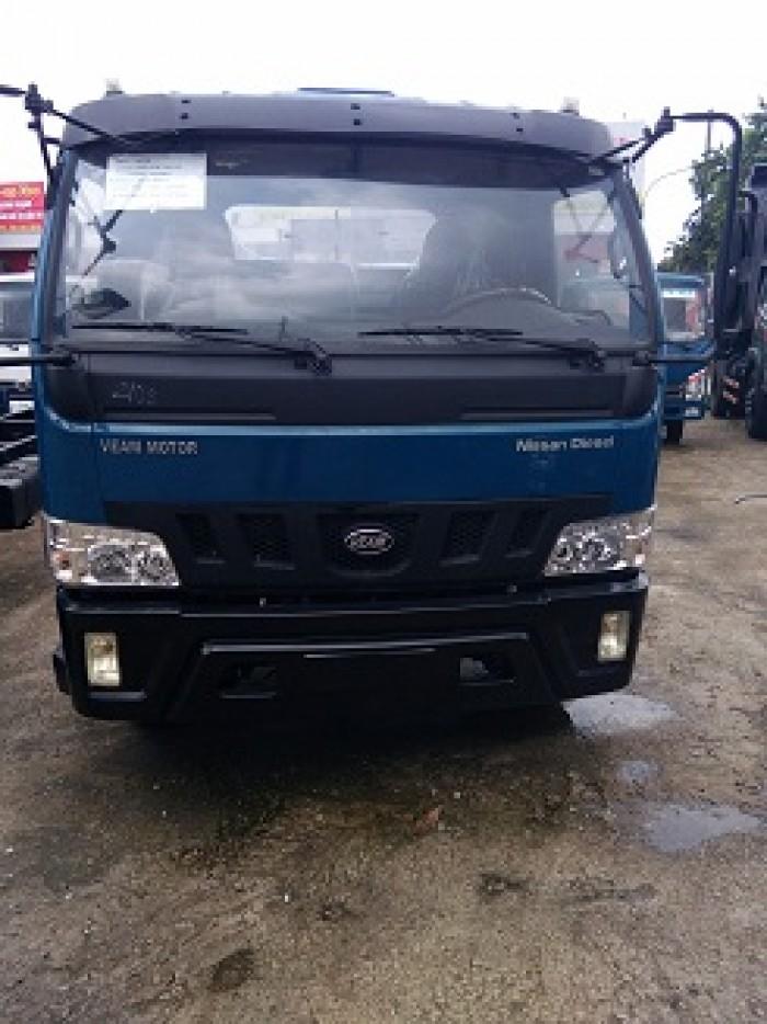 Xe tải Veam VT650 ,xe 6,5 Tấn thùng dài 6,2m hổ trợ giá tốt