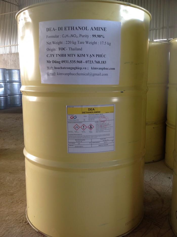 Mua Bán DEA, Di Ethanol amine 99% hàng Thai Land