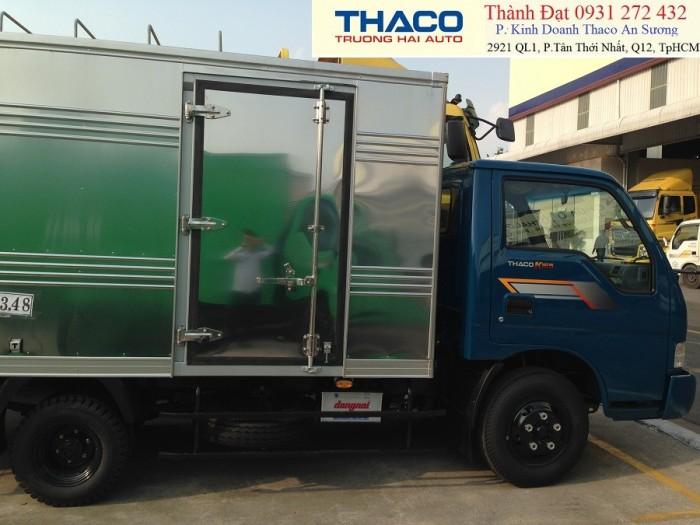 Xe tải Kia K165S tải trọng 2.4 tấn,tha  hỗ trợ mua xe trả góp. Thùng mui bạt tải trọng 2.4 tấn.