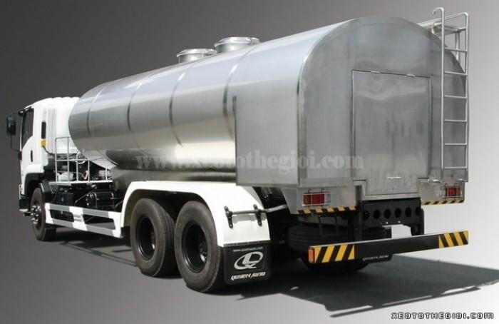 Xe bồn Isuzu FVM34W giá cực tốt chỉ 1450 triệu – thể tích thùng lên đến 12 khối