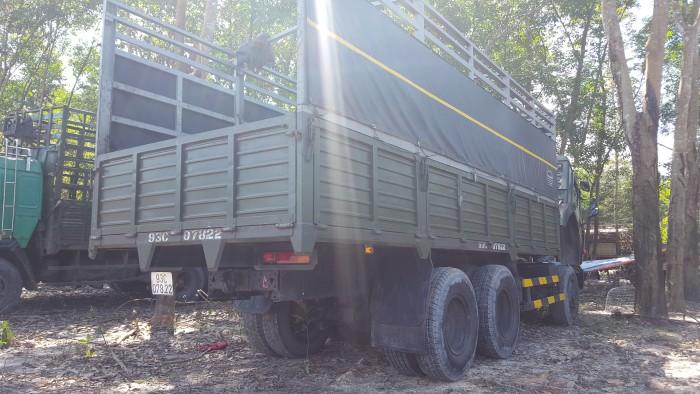 Tải thùng Kamaz 53229 (6x4) mới 2016 tại Kamaz Bình Phước | Bán xe thùng Kamaz 6 dây