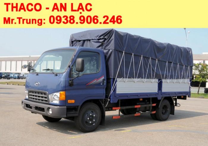 XE TẢI THACO HYUNDAI HD500 tải trọng 5 tấn