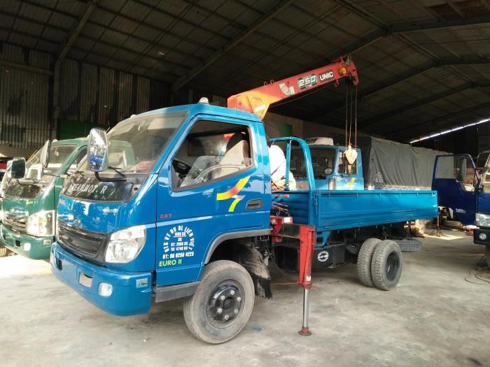 Xe tải 1.9T gắn cần cẩu