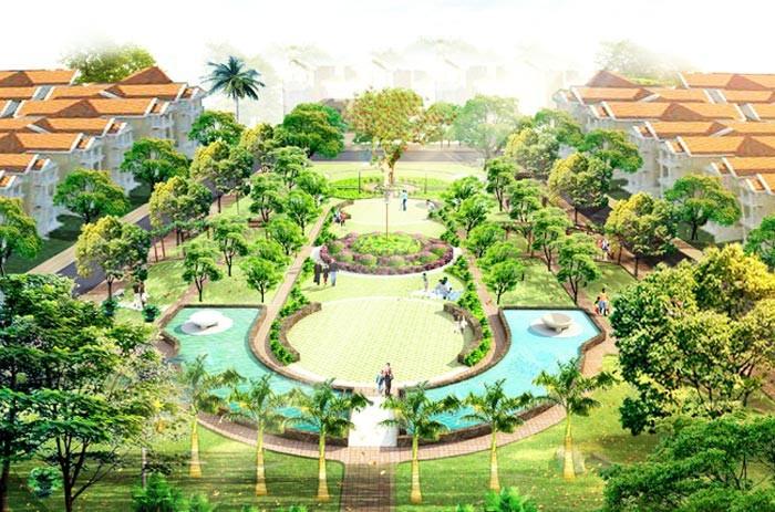 Cần bán gấp liền kề Nguyễn Chánh, DT 75m2, 4 tầng, MT 6m, view vườn hoa