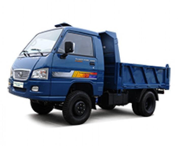 Xe Ben Thaco Trường Hải Forland FLD250C tải trọng 2.5 tấn lưu thông trong thành phố