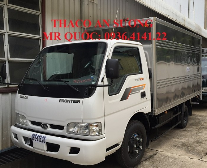 Mua bán Xe tải kia 2,4 tấn, 2,3 tấn, 1,9 tấn, 1,25 tấn, Chính hãng Kia Hàn Quốc, giá tốt nhất