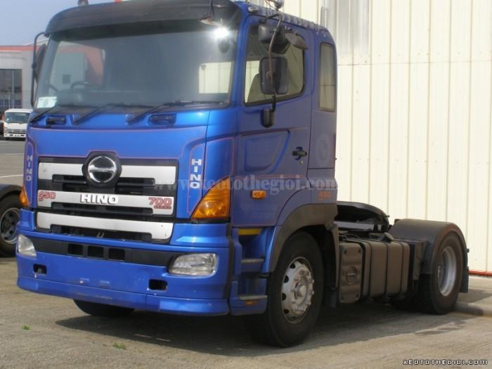 Bán xe đầu kéo Hino 72013 2016 1 cầu siêu tải trọng kéo theo 45 tấn, có sẵn