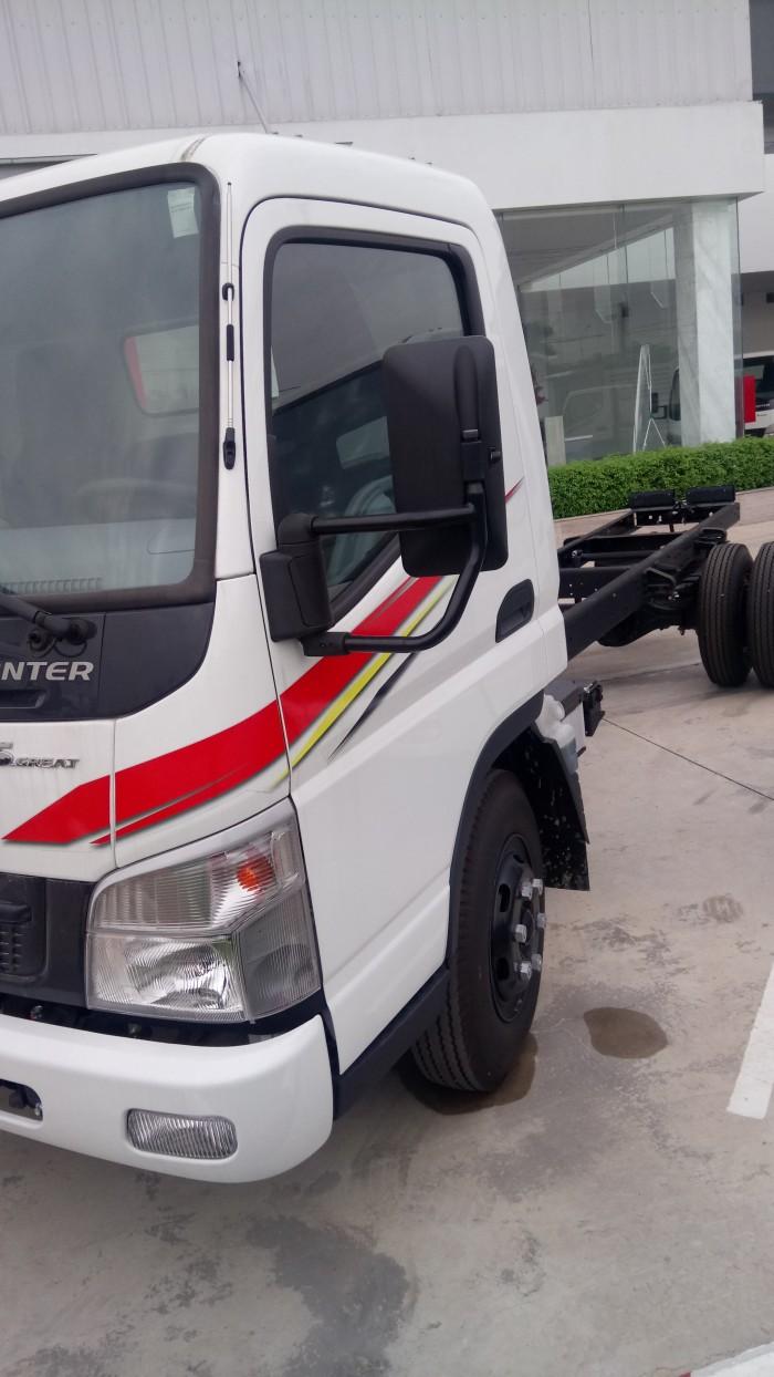 Bán xe canter7.5 tải trọng 4 tấn 5 thùng mui bạt, thùng kín,... liên hệ ngay để có giá tốt nhất