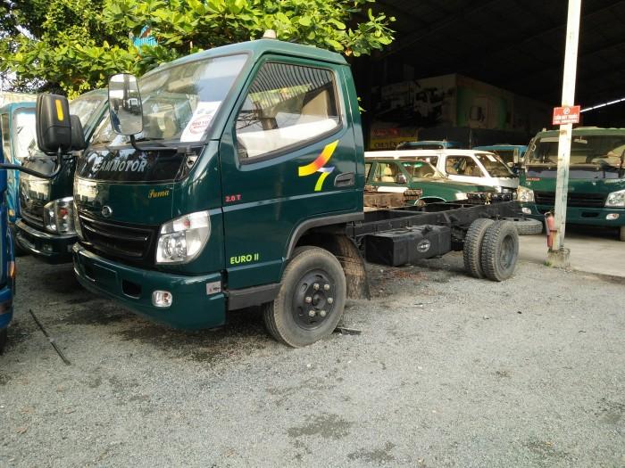 Xe tải 1.9T thùng mui bạt