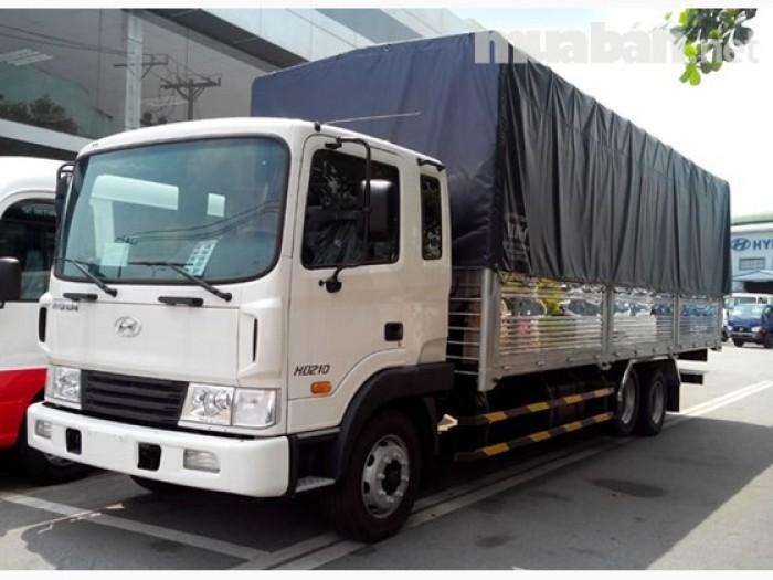 Hyundai tây ninh, hyundai HD210 - 14 tấn, 3 chân, đời 2016, vay ngân hàng 80%