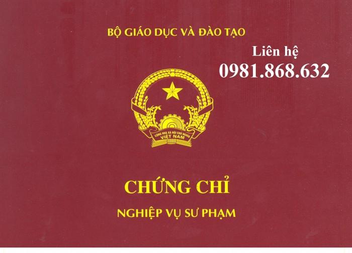 Đào tạo Nghiệp Vụ Sư Pham CHứng Chỉ Đại Học Sư Phạm tại Hồ Chí Minh và Toàn Quốc