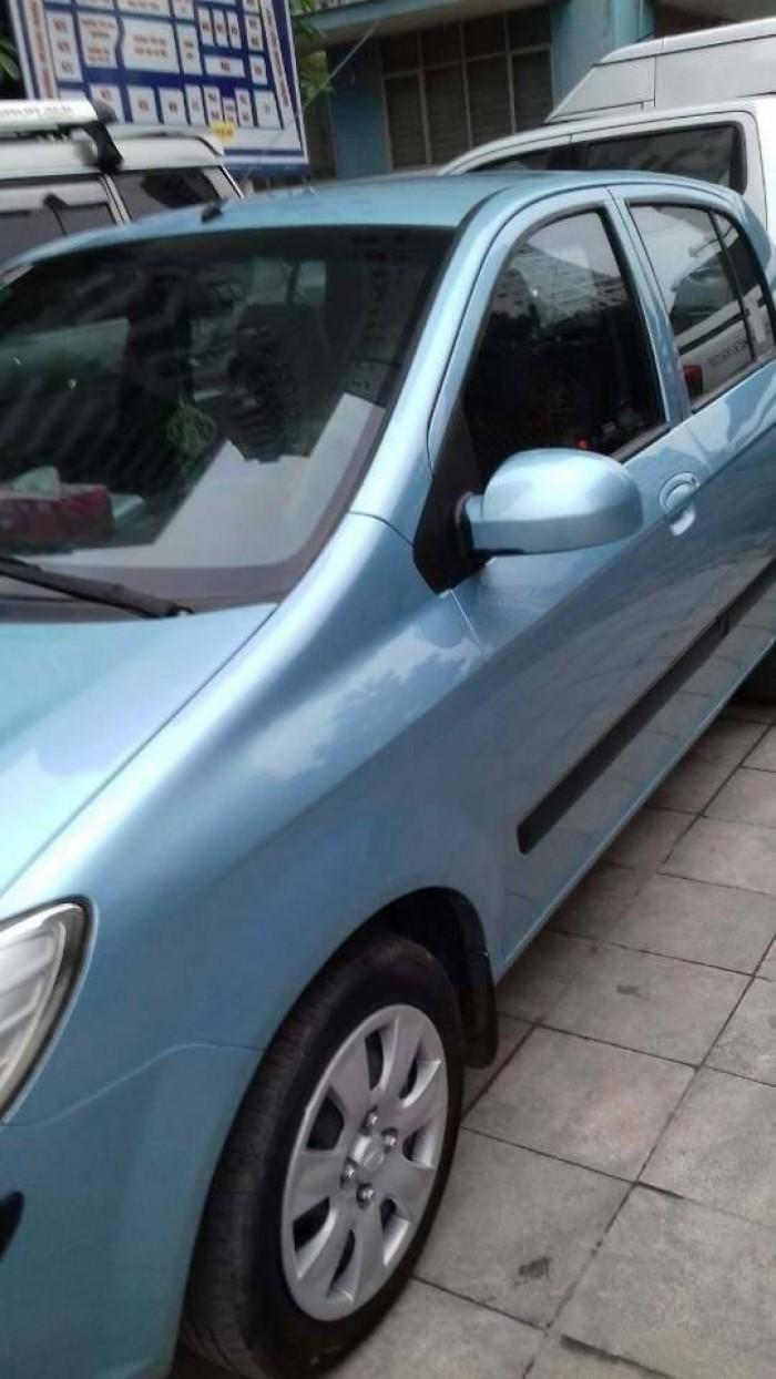 Hyundai Getz sản xuất năm 2009 Số tay (số sàn) Động cơ Xăng