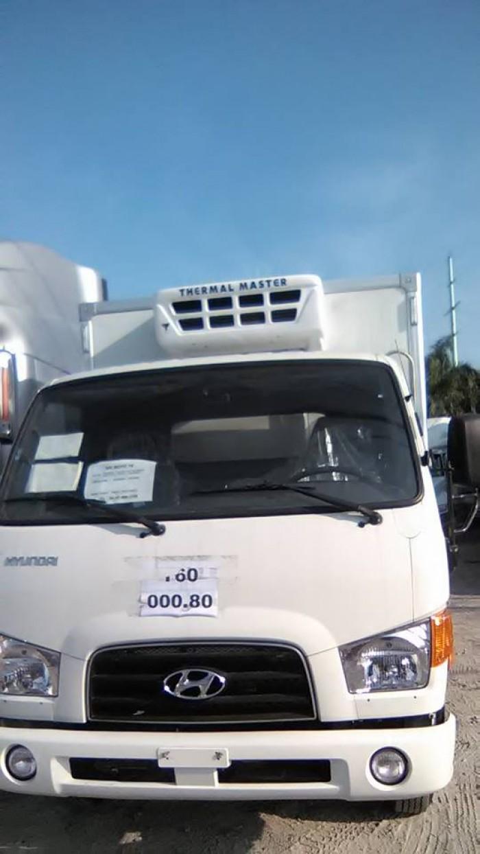 Hyundai Hd72 thùng đông lạnh, nhập khẩu hàn Quốc tải trọng 3,1 tấn trả góp chỉ đưa trước 150 triệu nhận xe ngay.