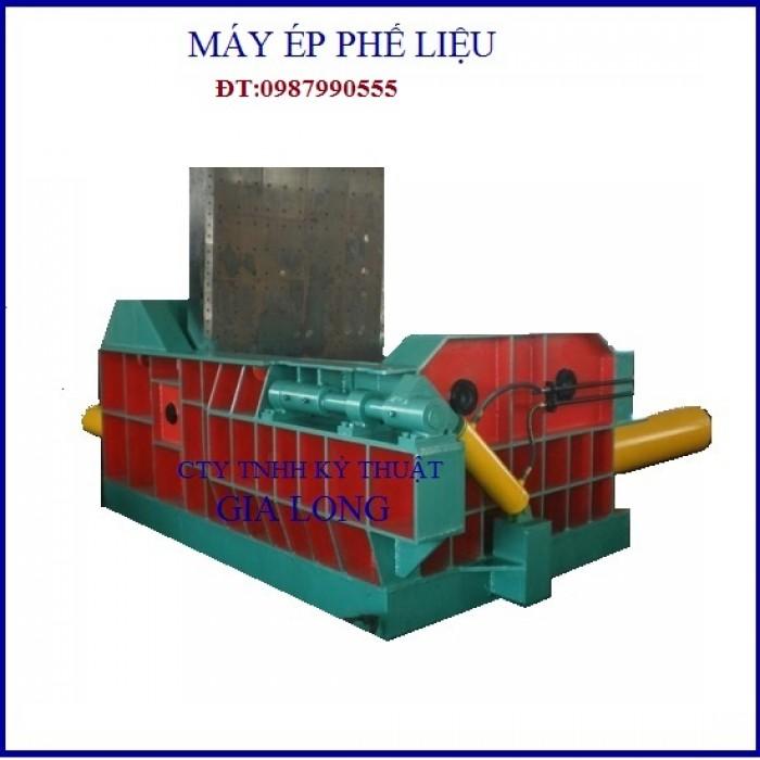 Máy ép thủy lực sản xuất tại công nghệ gia long2