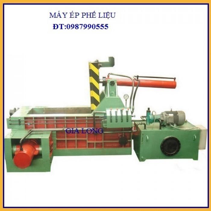 Máy ép thủy lực sản xuất tại công nghệ gia long1