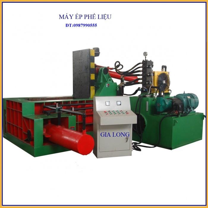 Máy ép thủy lực sản xuất tại công nghệ gia long4