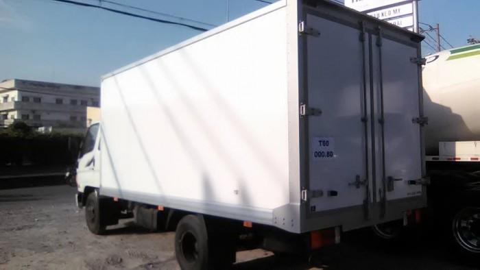 Hyundai HD72 thùng đông lạnh, nhập khẩu, trả góp đưa trước 150 triệu nhận xe ngay
