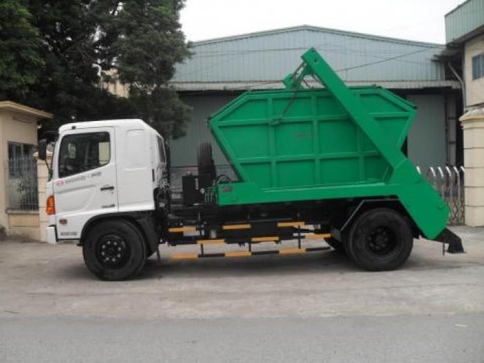 Xe ô tô tải Hino FC9JESW CHỞ BÙN tải trọng 3,5 tấn