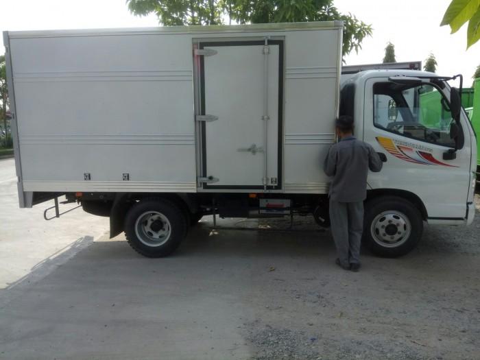 Bán xe tải 2,4 tấn thùng hộp kẽm giá rẻ tại Hà Nội